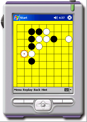 Gogame Attack and Defense for PocketPC2002 Screenshot