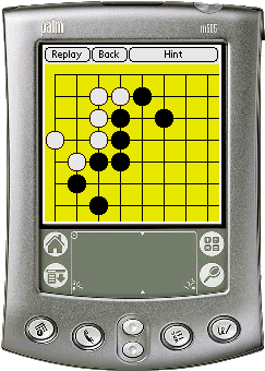 Gogame Skill of Endgame for Palm Screenshot 1