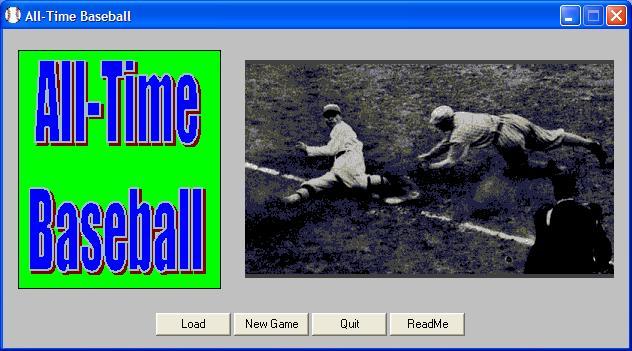 All-Time Baseball Screenshot