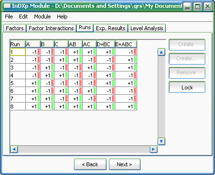 InDXp Module for admaDIC Calculator Screenshot