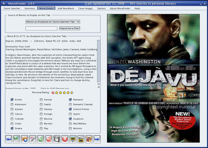 MovieFinder Screenshot 1