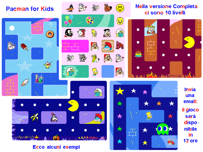 Pacman for Kids - Gioco per bambini Screenshot