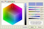 Absolute Color Picker ActiveX Control Screenshot
