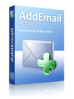 Add Email ActiveX Screenshot