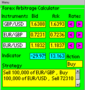 Forex Arbitrage Calculator for Pocket PC 2