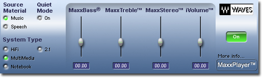 MaxxPlayer Screenshot