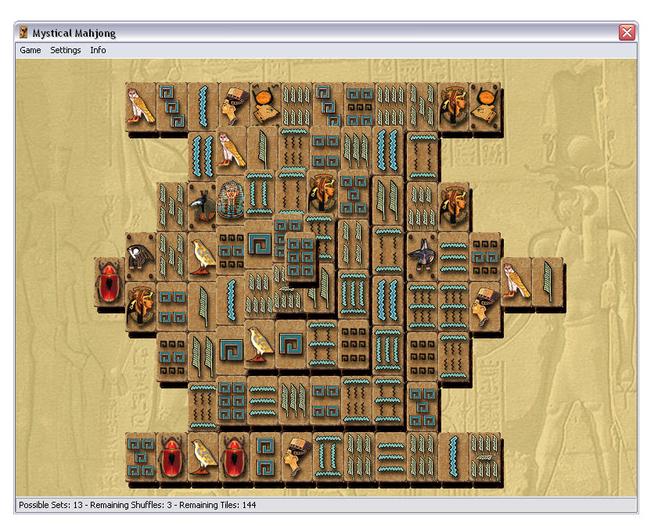Mystical Mayjong Screenshot 1