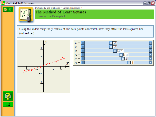 MathAid Probability and Statistics Screenshot 1