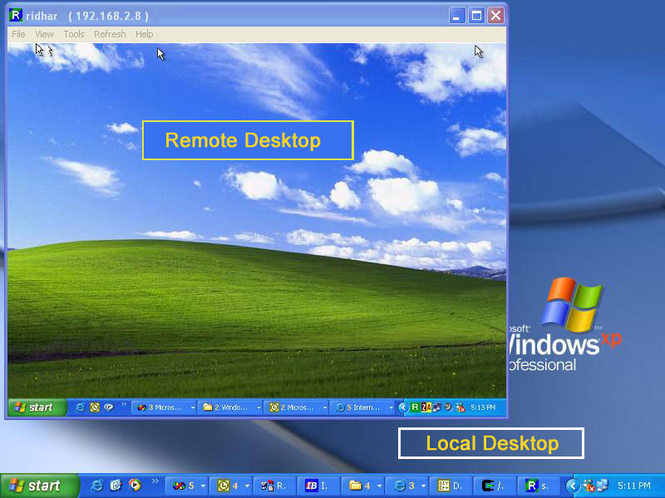 RemotePC Screenshot