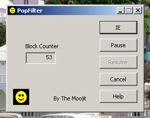 popfilter Screenshot