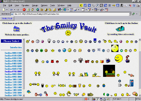 Smiley Vault Screenshot
