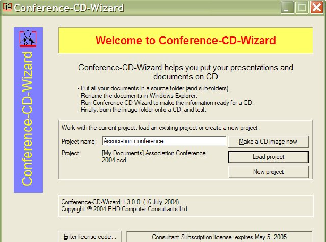 Conference-CD Screenshot 1