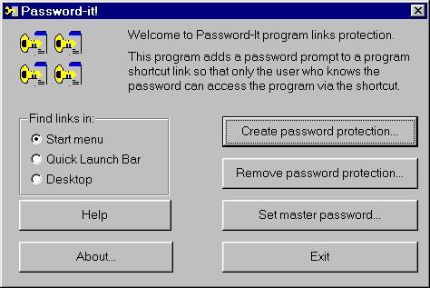 Password It! Screenshot