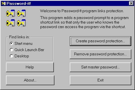 Password It! Screenshot 1