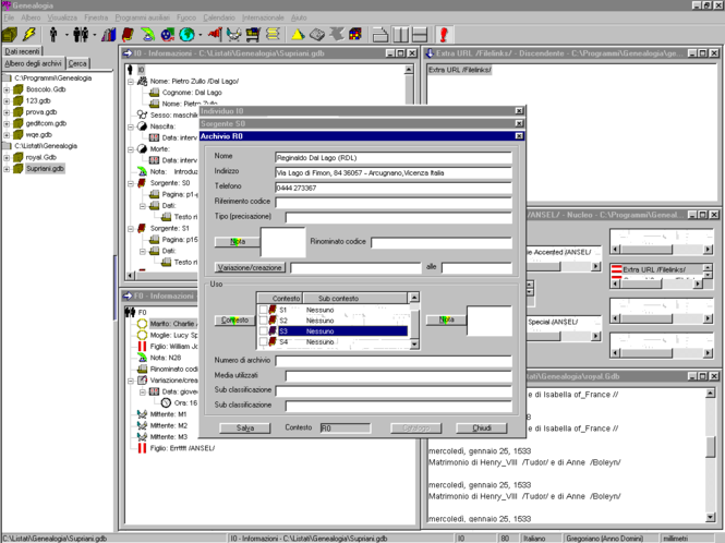Genealogia Screenshot 1