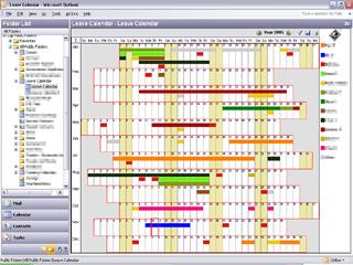 Outlook Year View Screenshot 1
