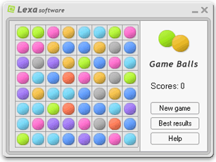 Lexa Game Balls Screenshot