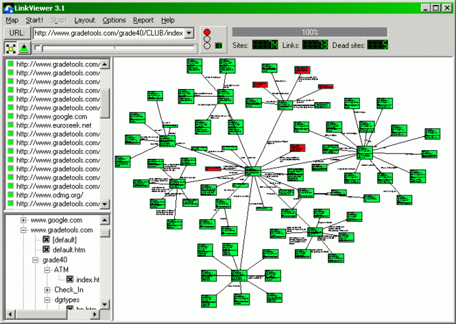 LinkViewer Screenshot
