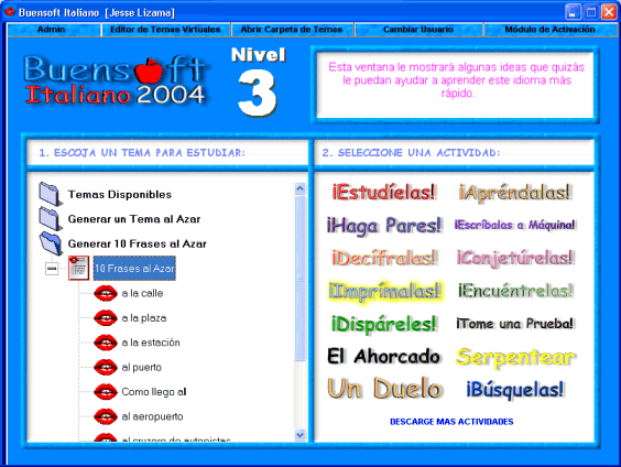 Buensoft Italian Screenshot 1