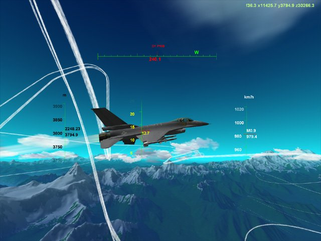 Flight Simulator Screensaver Screenshot 1