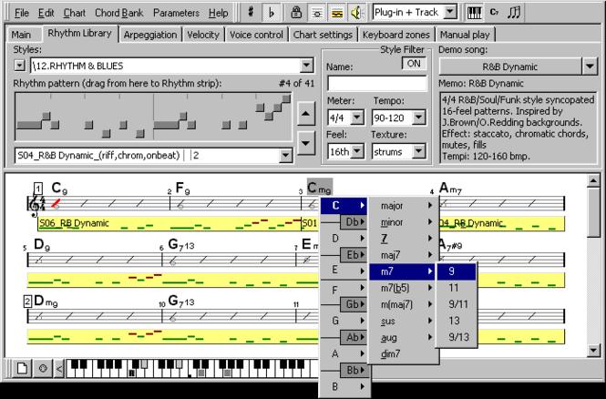 Rhythm'n'Chords MIDI FX Screenshot 1