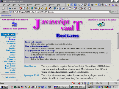 Javascript Vault Screenshot
