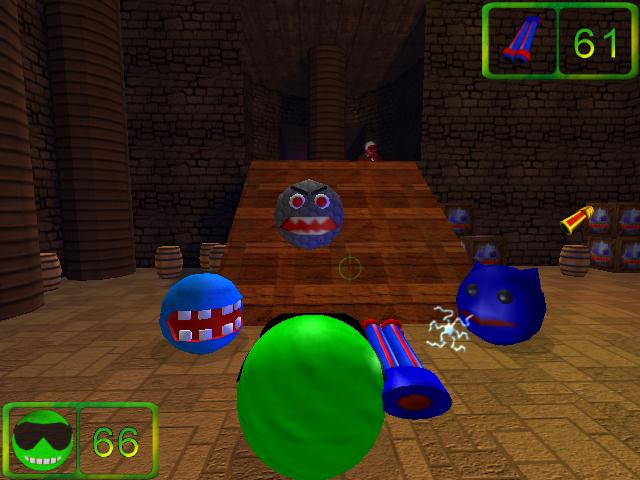 Pea-Guy: Defeating Dr. Robotica Screenshot