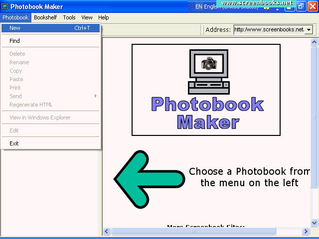 Photobook Maker Screenshot