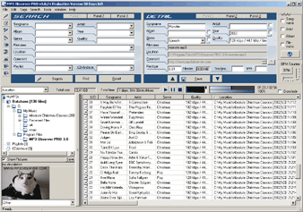 MP3 Observer HOME Screenshot
