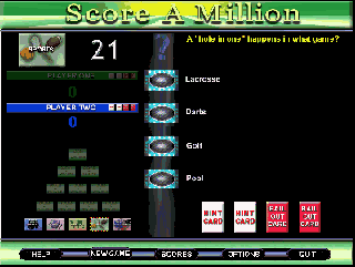 Score A Million for Windows Screenshot