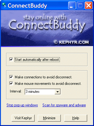ConnectBuddy Screenshot