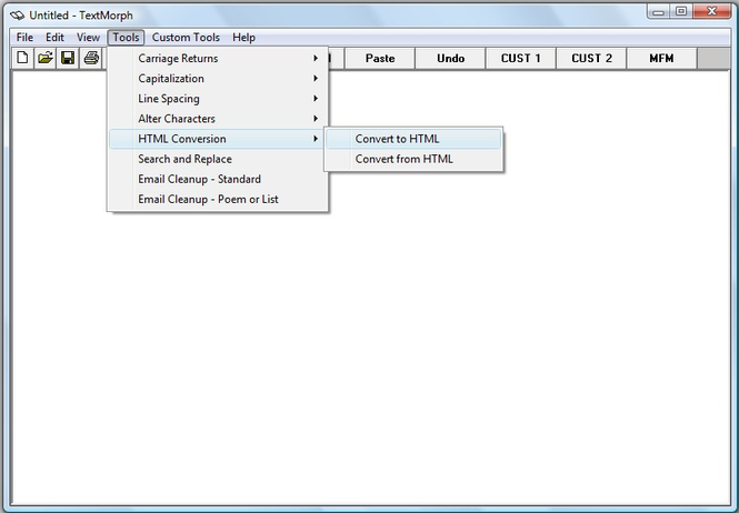 TextMorph Screenshot 1