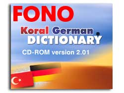 KORAL German-Turkish Talking Dictionary Screenshot
