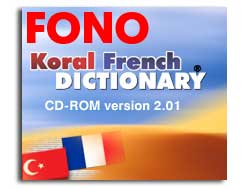 KORAL French-Turkish Talking Dictionary Screenshot
