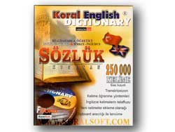 KORAL English-Turkish Talking Dictionary Screenshot