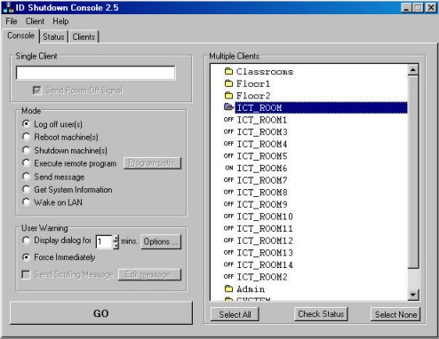 ID Shutdown Manager Screenshot 1