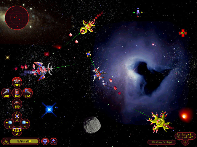 Alien Battlecraft: Arena Screenshot