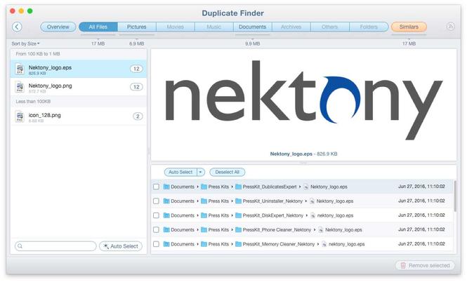 Duplicate File Finder Screenshot 3