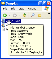 InfoTag Magic Screenshot 1