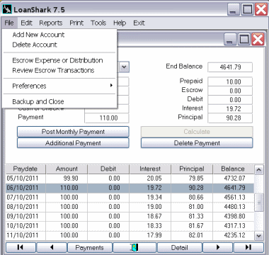 LoanShark Screenshot