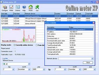 Free Online meter Screenshot
