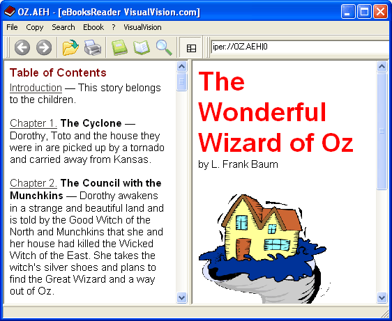 eBooksReader Screenshot 1