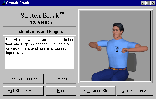Stretch Break Screenshot