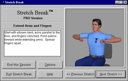 Stretch Break Screenshot 1