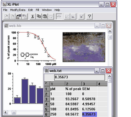 XL-Plot Screenshot