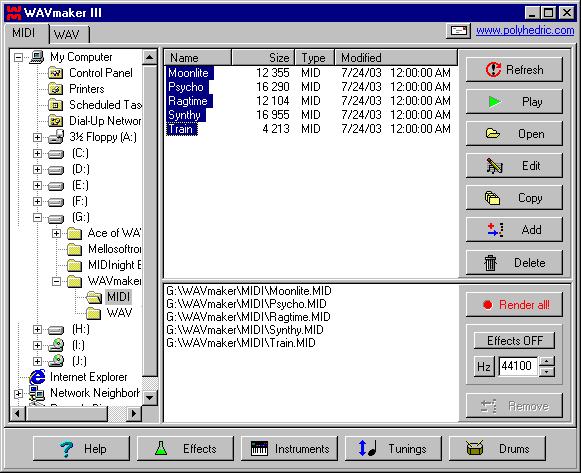 WAVmaker Screenshot 1