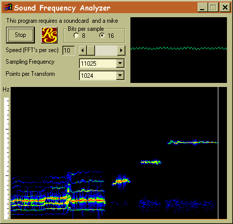 Frequency Analyzer Screenshot 1