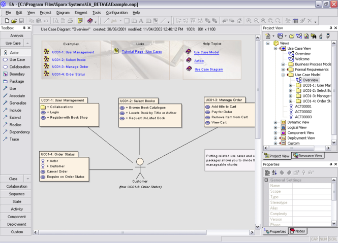Enterprise Architect Screenshot 1