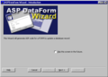 ASPDataForm Wizard 1