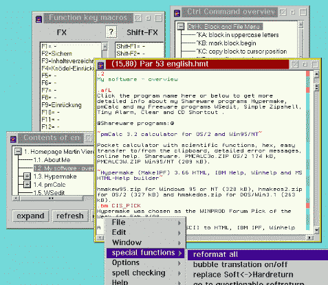WSedit Write&Set Editor Screenshot